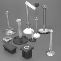 Selection of products by Stainless Feet & Castors